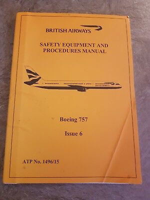 British Airways Cabin Crew Boeing  Safety Manual