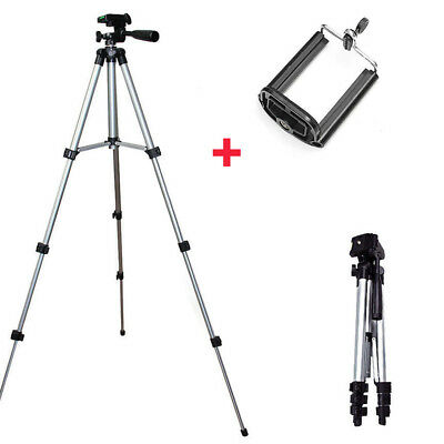 Aluminum Camera Camcorder Portable Tripod Stand Holder For Canon Nikon iPhone LA