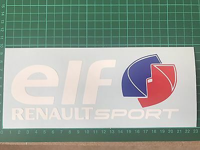 ELF Sticker Renault Sport Clio Megane 225 Turbo F1 182 172 Cup Decal 140mm