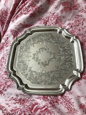 vintage silver plated tray : antique silver plated trays - pezcame.com