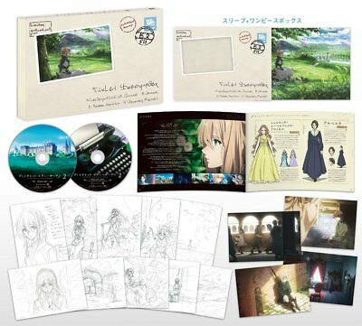 Violet Evergarden Vol.2 First Limited Edition Blu-ray Booklet Post Card Japan