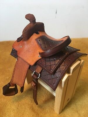 LSQ Working Western Saddle & Bridle Set ~ Ships FREE in USA!