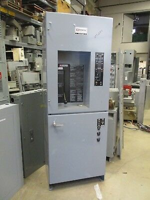 Zenith 150 Amp 3Ø 480 Volt Automatic Transfer Switch & Bypass- Ats289