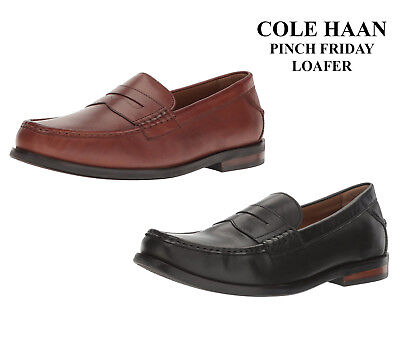 60da39e03b3 Men Cole Haan Pinch Friday Penny Slip On Loafers Leather Moccasins NEW