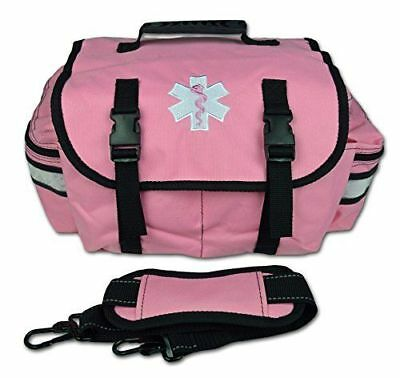 Pink Small EMT Medic First Responder Trauma EMS Jump Bag w/ Dividers 20P