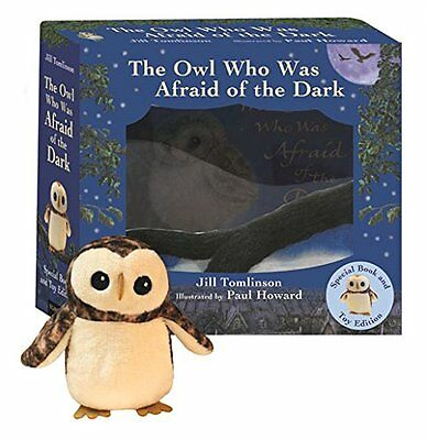 The Owl Who Was Afraid of the Dark Book and Plush Gift Set New Paperback Book Ji