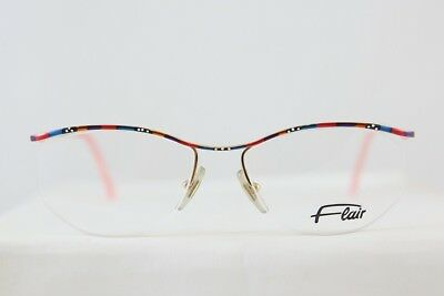 453519c2ea Great Vintage Flair Mod 410 Half Rimless Eyeglasses Brille New! Made In  Gemany