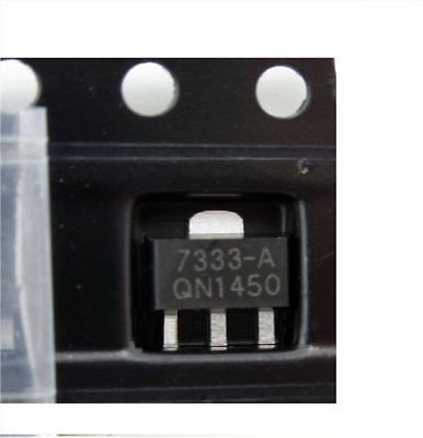 20Pcs HT7333 HT7333-A 3.3V Consumption Ldo Low Power Voltage Regulator SOT-89 va