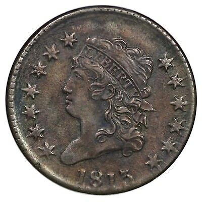 1813 S-292 R-3 NGC AU 50 Classic Head Large Cent Coin 1c