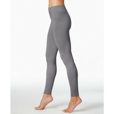 First Looks Seamless Solid Leggings Gris Gray