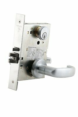 SCHLAGE Mortise Commercial Entry Exterior Door Lock set 17A Storeroom Series L