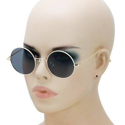 New Round Circle John Lennon Style Vintage Retro Classic Sunglasses Men & Women.