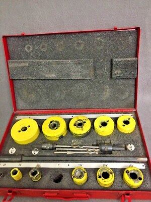 Starrett Safe Flex High Speed Welded Edge Hole Saw Set 19 pcs.