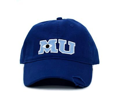 Monsters MU University Hat Applique Royal Baseball Cap