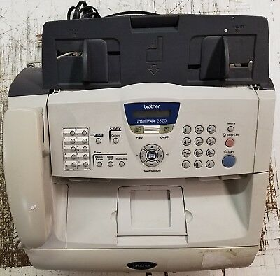 Brother IntelliFAX 2820 Fax and Copier