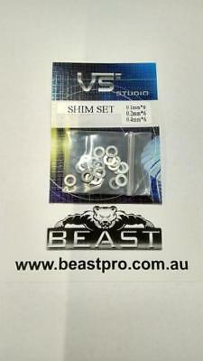 BEAST: SHIM SET FOR METAL GEARS GEL GUN BLASTER M4A1 G36 SCAR V2 GEN 9 ACR etc
