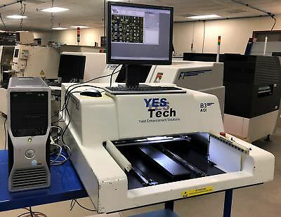 YESTECH Nordson B3 Benchtop AOI w/ Color LED stadium lighting