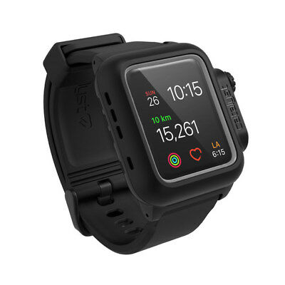 Catalyst Waterproof Case for Apple Watch 42mm Series 2 Stealth Black 48489BBR