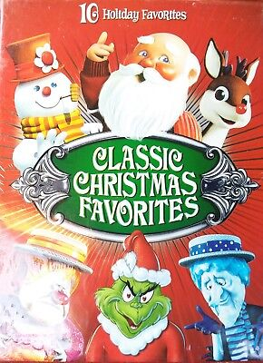 classic christmas favorites dvd 2008 4 disc set new sealed
