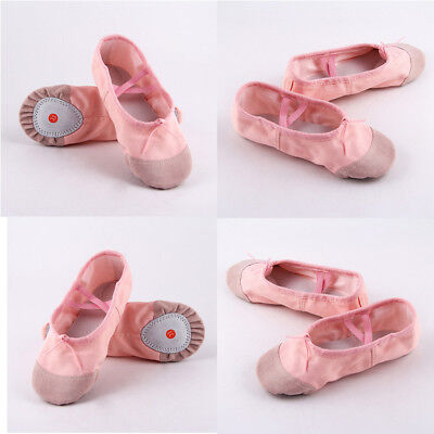 New Baby Pink Ballet Dance Toe shoes Professional Ladies Satin Pointe Shoes Silk