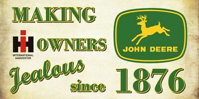 "John Deere ""jealous"" Decal"