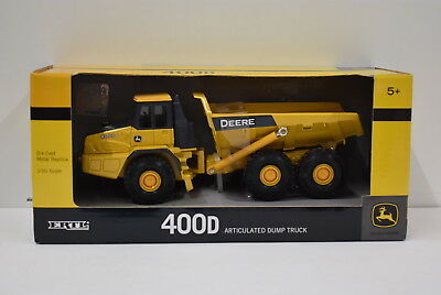 1/50 John Deere 400D Articulated Dump Truck  New in Box by Ertl