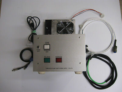 Sargent-Welch Turbomolecular Pump Controller and Cables - Model 3134 PS