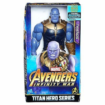 The Avengers AVENGERS Marvel Infinity War Titan Hero Series Thanos with Power FX