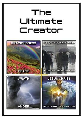 25 - The Ultimate Creator Tracts gospel tracts evangelism bible tracts