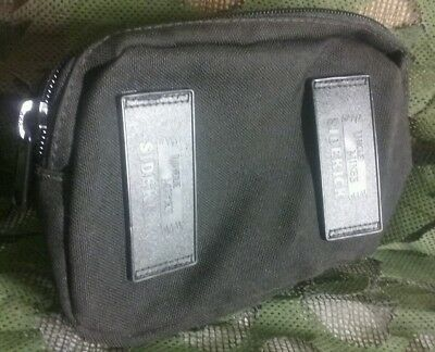 Uncle Mikes Sidekick Gun Pack Belt Pouch Holster Black 9X5X2-3 Inches Black Euc