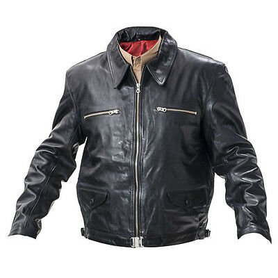 WW2 German Eric Hartmann leather jacket black - Made to your sizes