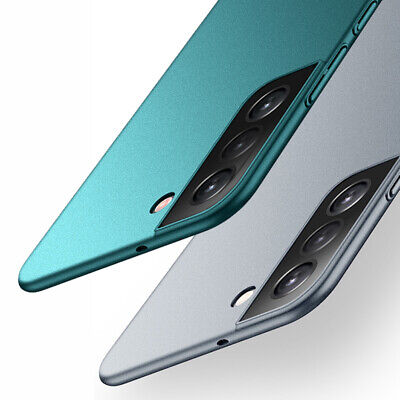For Samsung Galaxy S8 S9 S10+ Note 10 9 8 Slim Sandstone Hard Back Cover Case