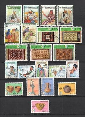 Libya - Italian  Colonies - Selection Of Postally Used Stamps  Lot (Lyb 87 )