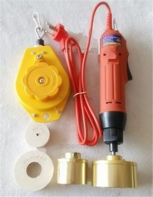 1Pc Cap Capping/Closing Sealer Electric Handheld Bottle Screw Sealing Machine zx