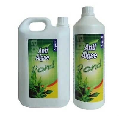 Aquili Algae 2L 2000Ml Anti Alghe Antialghe Laghetto Pond Utile Per 40000 Litri