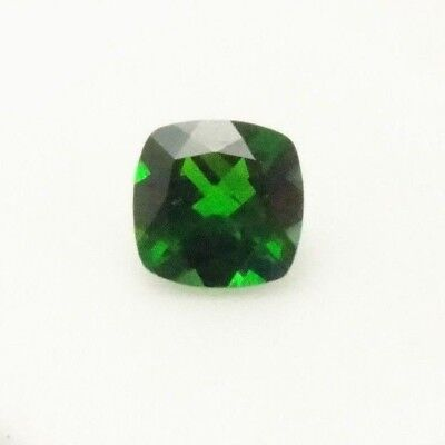 2.14ct Russian Chrome Diopside Cushion - 8x8mm - Chrome Diopside Loose Gemstone
