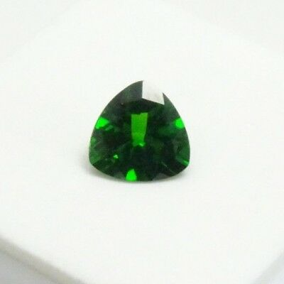 1.60ct Russian Chrome Diopside - 8mm Trillion - Chrome Diopside Loose Gemstone