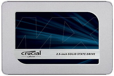 "Crucial MX500 250GB 2.5"" SATA III 3D NAND Internal Solid State Drive (SSD) CT250"
