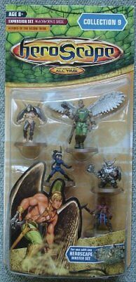 Heroscape Collection 9 Expansion Set Blackmoon's Siege Heroes of the Moon Tribe