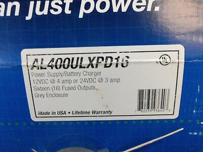 New in Box Altronix AL400ULXPD16 Power Supply 16 Fused Outputs