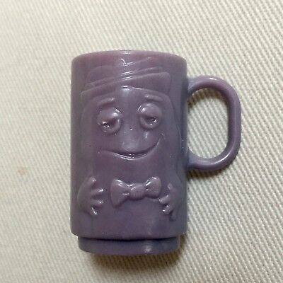 1970s General Mills Boo Berry Blue Monster Plastic Mug Cereal Premium Prize