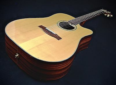 Fender Gd-47Sce Ae Acoustic W/ Fishman Pickup Rare 2003 15Yr Vault Stock $500Off