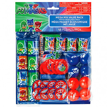 PJ Masks Birthday Party Favour Pack (48)