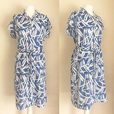 Vintage St Michael Dress  Button Up Front Late 70's/Early 80's