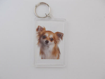 Dog Breed Keychain- I Love My Chihuahua -Dog Breed Specific,Pet