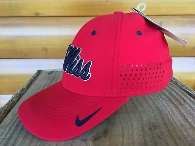 official photos a3779 430af ... closeout ole miss rebels nike ncaa sideline cap hat new with tags  various sizes 54504 7e1b5