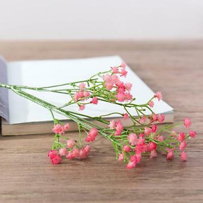 Artificial Plastic Baby's Breath Stem - Pink