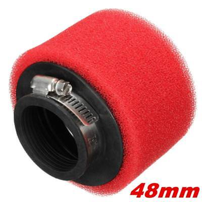 Racing  Air Filter ATV For GY6 50cc 48mm red For Motorcycle Scooter  Dirt Pit