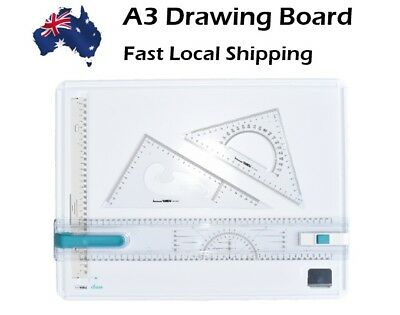 A3 Drawing Board high quality plastic with Free Carry White Bag - Noble Brand