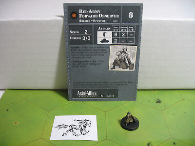 Axis /& Allies Contested Skies Il-10 Sturmovik with card 9//45